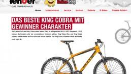 Fahrrad fender Website