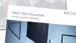 Postkarte Aleph Gituarrenquartett